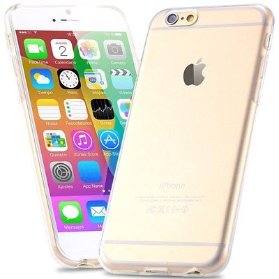 Handy Hülle für iPhone 6/ 6s Crystal SoftCase Silikon Transparent Clear Cover TP