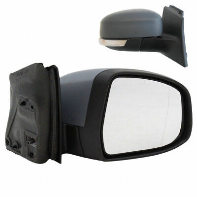 1999-2004 FORD Focus Complete Mirror Unit-Manual Black Driver Side RH