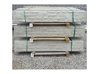Rock faced Gravel Boards pack of 10
