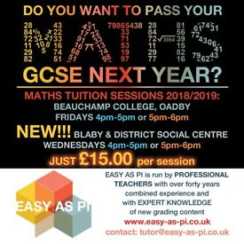 MATHS TUITION. FREE trial lesson. Qualified and experienced female teachers. £15 per hour.