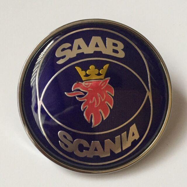 SAAB 93 Scania 50mm Replacement Bonnet Badge Emblem 9-3 1998-2002 4522884