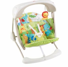 Fisher Price Rainforest Friends Take Along Swing RRP £85