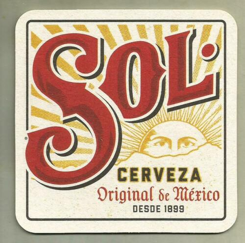 16 Sol Cerveza Original From Mexico   Beer Coasters