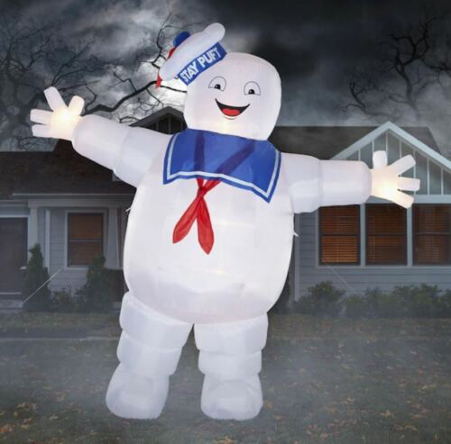 8 Ft GHOSTBUSTERS STAY PUFT MARSHMALLOW MAN Airblown Lighted Inflatable