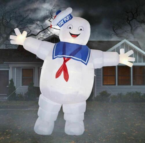 8 Ft GHOSTBUSTERS STAY PUFT MARSHMALLOW MAN Airblown Halloween Inflatable