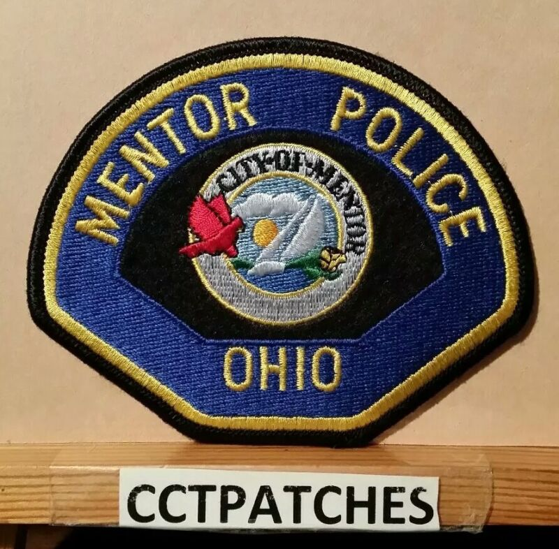 MENTOR, OHIO POLICE SHOULDER PATCH OH