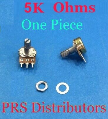 5k Ohms 5 K Linear Panel Mount Volume Control Potentiometer 3-pin B Type 1 Pc