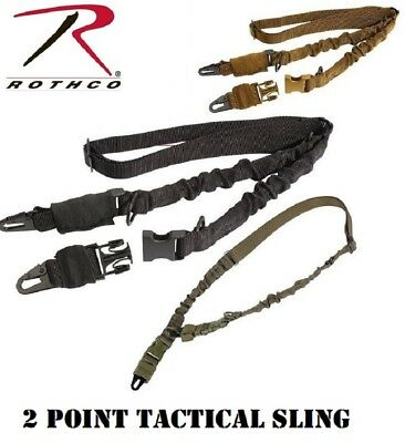 2 Point Tactical Sling Police Airsoft Paintball Hunting Rifle & Shotgun Rothco