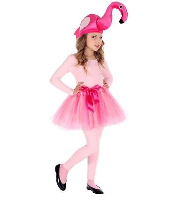 FLAMINGO Mädchen Kostüm Kinder Rock Tütü Tier Party Karneval Fasching #96535