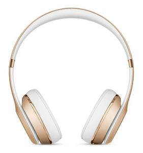 e2abcee2844 Beats by Dr. Dre Solo3 Wireless Headband Headphones - Gold for sale ...