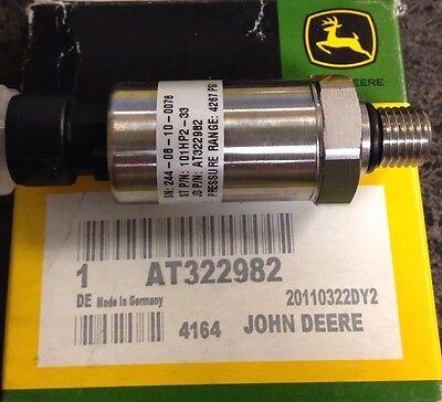 John Deere Loader Motor Grader Transducer Brake Pressure Sensor At358048