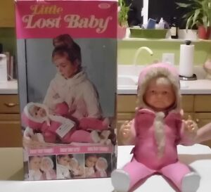 Vintage Ideal Little Lost Baby Doll 0555-3 w/ Original Box 3 Faces