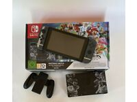Nintendo Switch Console Super Smash Bros Limited Edition Boxed
