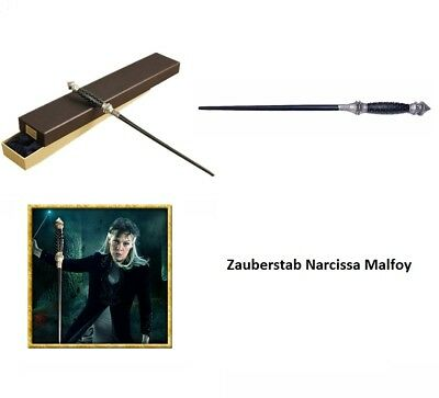 erstab Deluxe mit Metallkern + Samtbox Harry Potter Neu (Harry Potter Zauberstab Deluxe)