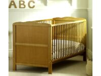 Cot Bed/Toddler/Junior Bed With Mattress