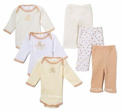 Sweet & Soft 6pc Baby Gift Set 0-6 Months Newborn NIB Sweet Baby Gift