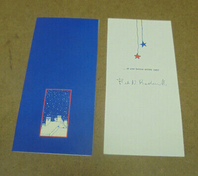 HERGE - TINTIN - CARTE DE VOEUX - 1997 - TINTIN, MILOU, AGENT N° 15 EN RELIEF