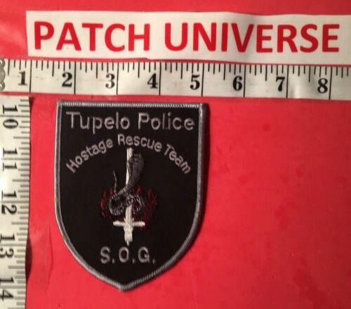 TUPELO MISSISSIPPI HOSTAGE RESCUE TEAM  SHOULDER PATCH  R125