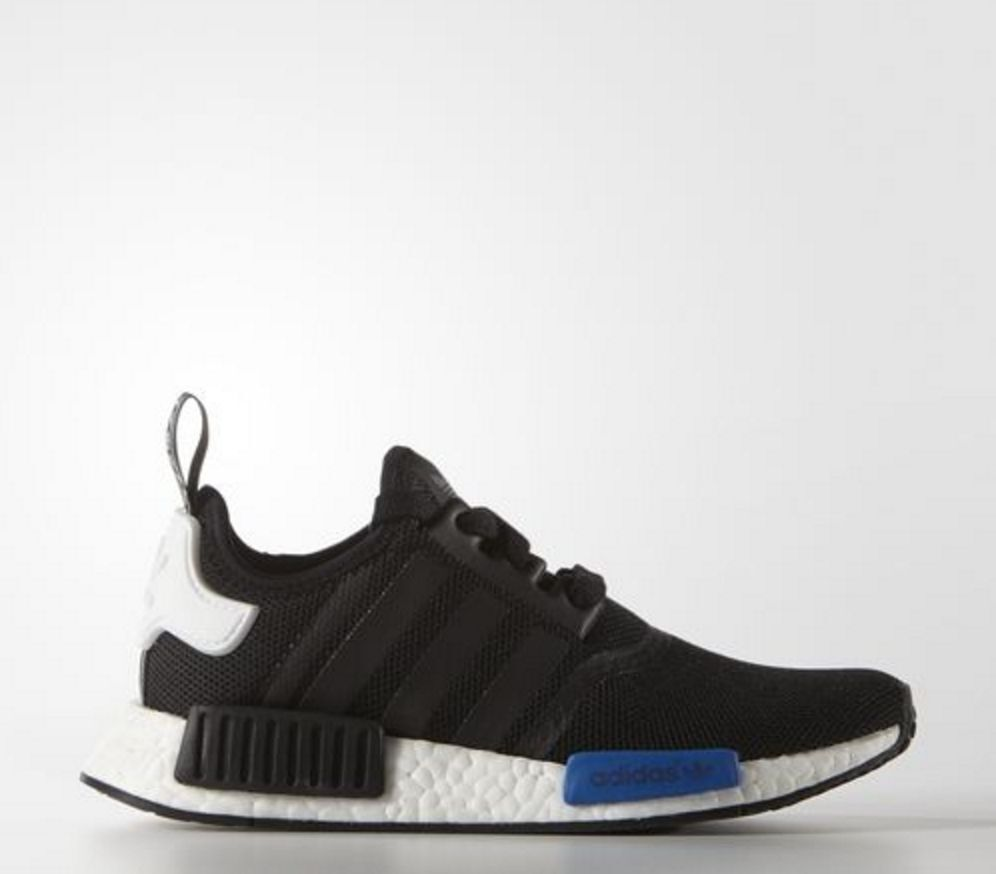 9922a3814 Adidas NMD Black Blue Brand New Size UK 6 7 8 9 10 100% Authentic