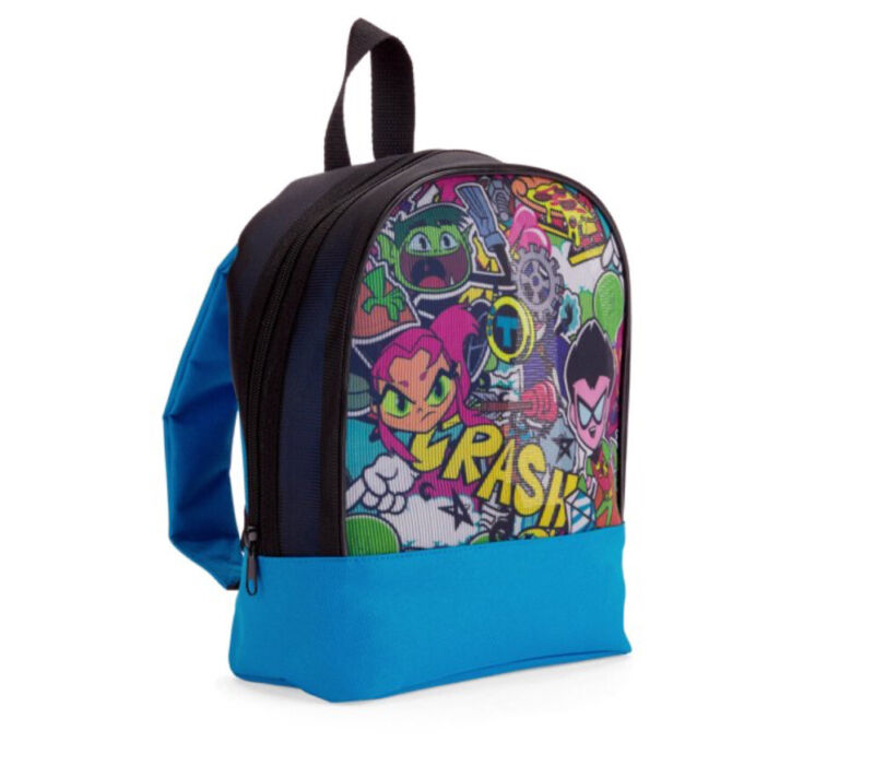"DC Backpack ""Teen Titans GO"" Warner Bros Mesh small 11""x9""x5"" Original"