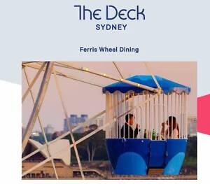 Lunar Park & The Decks Syndey Ferris wheel Dinner Package Adelaide CBD Adelaide City Preview