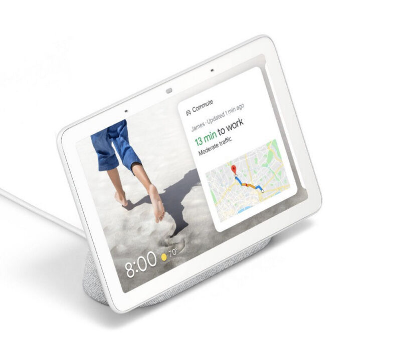 ✅ Google Nest Hub Chalk Model:H1A, No Box