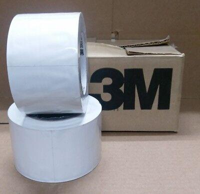 2 Rolls- 3m 3903 3 X 50yd Vinyl Duct Tape- White