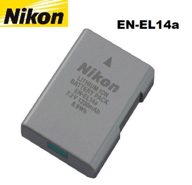 OEM New EN-EL14A Camera Battery For Nikon D3100 D3200 D3300 D3400 D5200 D5300