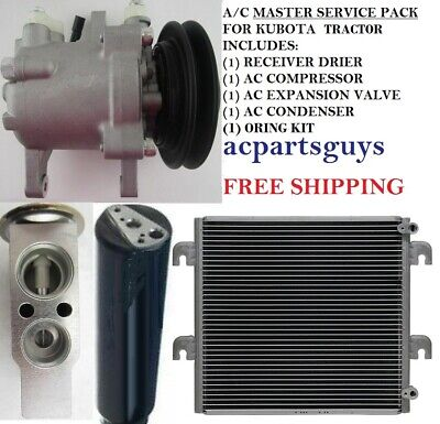 New Compressor Master Service Kit For Kubota M8560 Tractor Rd451-93900 Sv07e