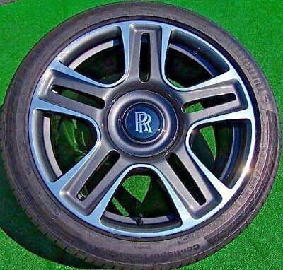 OEM Factory Rolls-Royce DAWN WRAITH Ghost BESPOKE 21 in WHEELS TIRES Black Badge
