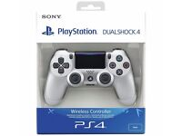 PS4 (PlayStation 4) controller v2 - SILVER - Brand new in box