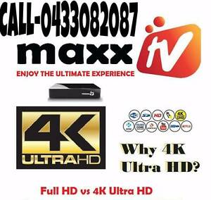 MAXX TV ULTRA 4K (RECHARGE & NEW BOXES) Melbourne CBD Melbourne City Preview