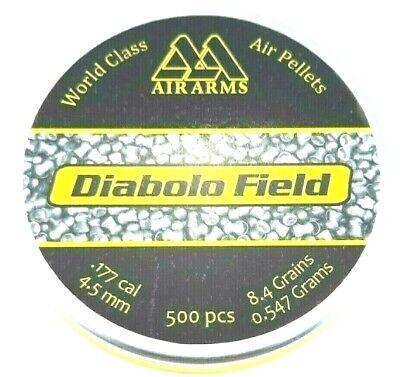 AIR ARMS FIELD .177 Precise 4.52 Diabolo 8.4 Top Hot AIR GUN PELLETS (500 -