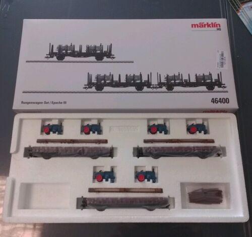 46400 - Märklin H0 Rungenwagen-set Epoche Iii