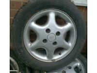 14in Ford 4 stud wheels