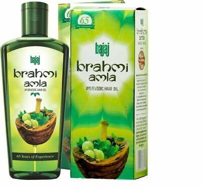 Bajaj Brahmi Amla 100% Ayurvedic Hair Oil - 100 ML BEST DEAL IN LOWEST