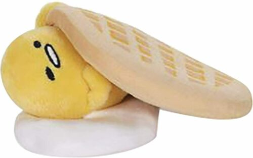 Gudetama - The Lazy Egg Waffle Plush - 6 Inch