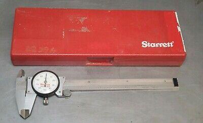 Starrett No. 120 - 6 Dial Caliper In Protective Case