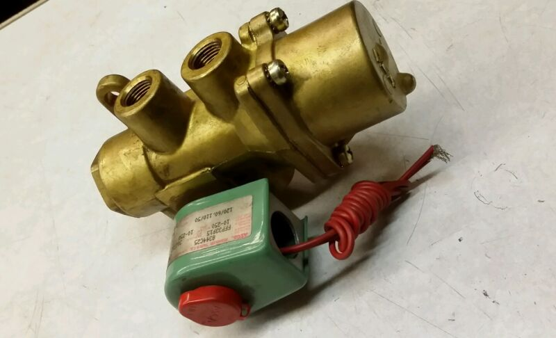ASCO 8344C25 Red Hat Valve New Free Shipping