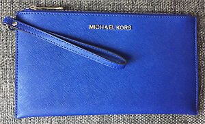 Royal Blue Michael Kors Wristlet - $45 obo