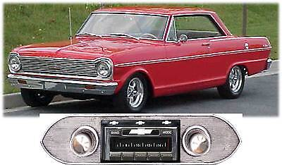 USA-630 II* 300 watt 1962-1965 Chevy Nova AM FM Stereo Radio iPod USB Aux inputs