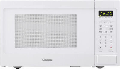 Kenmore 70912 0.9 Cu Ft Countertop Microwave Oven W/ 6 Auto