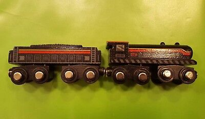 (Circo wooden magnetic train. Brio, Thomas And Friends Wooden Systems Compatible )