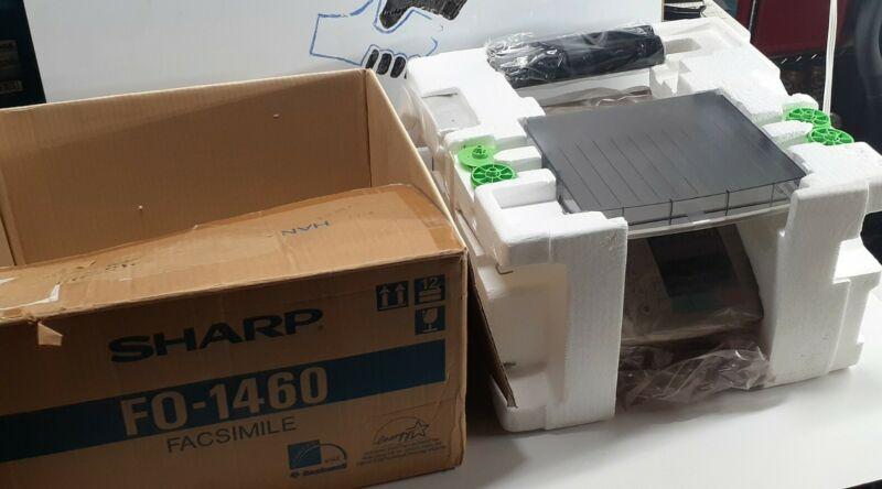 Sharp FO-1460 Fax Machine Brand New With Box - Uses Regular Paper!!! NIB