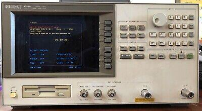 Hp 4352a Vcopll Signal Analyzer 10mhz - 3ghz