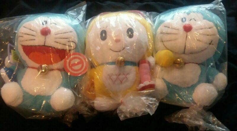 [US SELLER] Japan Import Doraemon Plush 28 Cm SET OF 3