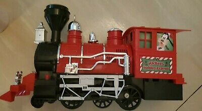 Mickey Mouse Holiday Express Train - Disney Christmas Train Set - Only 3 Pieces
