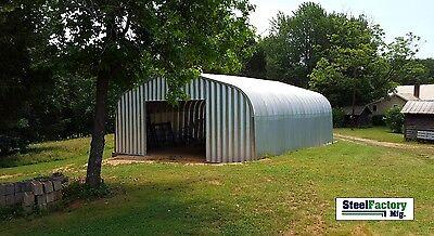 Steel Residential 30x42x15 Hotrod Car Lift Garage Prefab Metal Shop Building Kit