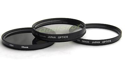 Filter Kit Uv Nd4 Cpl For Sony Dsc-h10 H5 H3 H2/1 F828