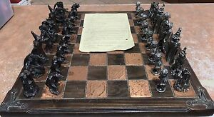 Lord of the rings chess set gumtree australia free local classifieds - Lord of the rings chess set for sale ...